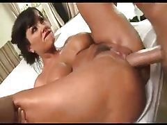 Hot massage turns into anal sex for Lisa Ann tubes