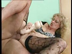 Sexy stockings teacher fucked on her desk tubes