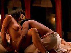 Celebrity babe Indira Varma in lusty love scenes tubes