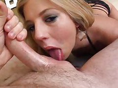 Chastity Lynn is all about the deepthroat BJ tubes