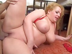 Fat German blonde foreplay and fuck tubes
