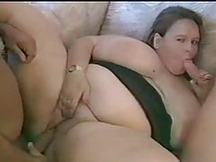 Dude fucks a super fat chick nice and deep tubes