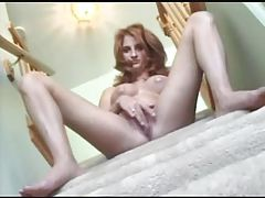 Smoking hot chick fucked on the stairs tubes