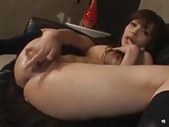 Japanese girl solo play means masturbating tubes