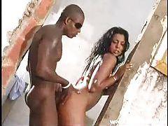 Latina bikini girl fucked by black guy outdoors tubes