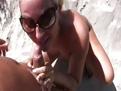 Girl comes to him for sex at the beach tubes