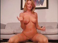 Carli Banks in stockings masturbating tubes