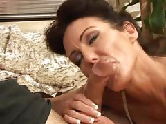 Mature gives a great and loving blowjob tubes