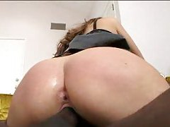 Hot brunette fucked by big black cock tubes