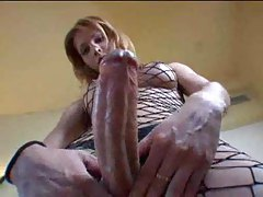 Rather enormous shemale cock appears tubes