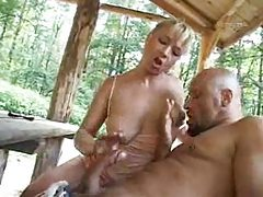 Mature fucked outdoors and she is hot tubes