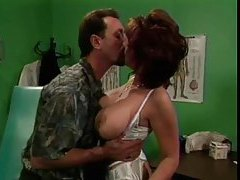 Sexy doctor lady fucked by a patient tubes