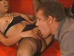 Pussy licking and fucking for stockings girl tubes