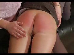 Naughty schoolgirl gets spanked hard tubes