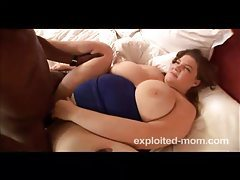 Black man plows the BBW mom pussy tubes