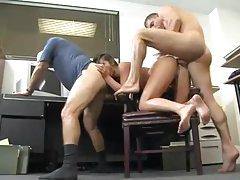 Old dudes office anal sex with babe tubes