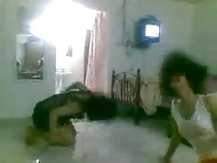 Dancing Arab chicks in their homemade video tubes