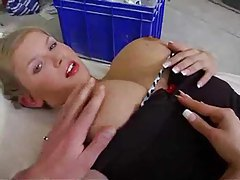 Gorgeous anal with the big titty girl tubes