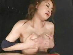 Japanese girl blowjob and titjob tubes