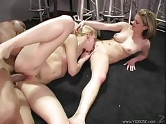 Big black dick boning babes in the butt tubes