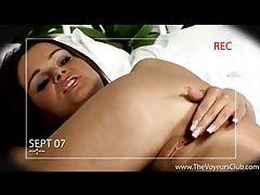 Hot hidden camera shows her masturbating tubes