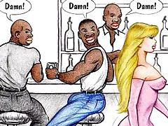 Interracial cartoon comic for your pleasure tubes