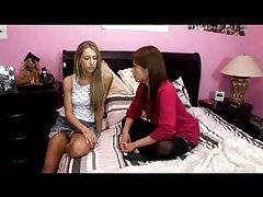 Asian girl and white girl having lesbian sex tubes