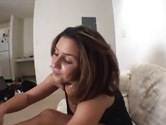 Extreme close up with her hot pussy tubes