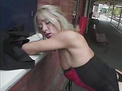Asian girl finds two cocks that want her tubes