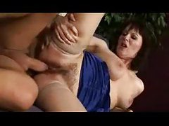 Hot mom with hairy bush fucked in all positions tube