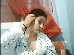 Cute Arab teen in pajamas masturbating tubes