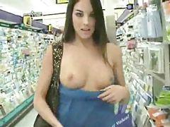 Sexy girls love outdoor nudity tubes