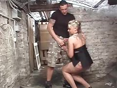 Down in the basement fucking a German slut tubes