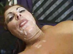 Messy cumshots are thick on pretty faces tubes