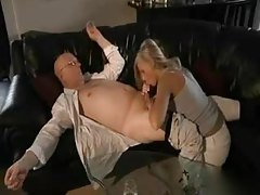 Old man fucks a young naked blonde tubes