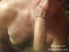DaddyDater Emptying my Balls in an Older Mans Mouth tubes
