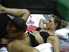 Blonde is skinny and very horny tubes