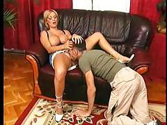 She plays with her pussy before fucking tubes