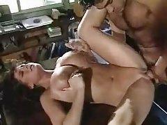 Big tits brunette fucked in classic scene tubes