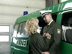 Military man gets some hot blonde pussy tubes
