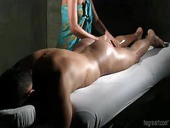 She gives a slow and very wet handjob tubes
