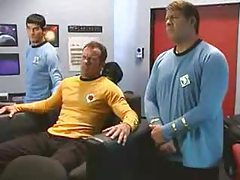 Star Trek sex parody with hot fucking tubes