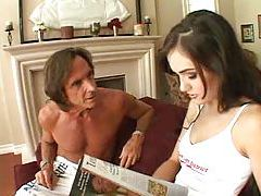 Older guys going threesome with Sasha Grey tubes