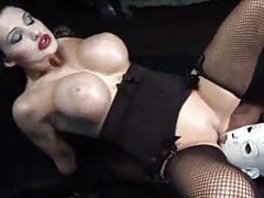 Aletta Ocean in a kinky scene with a black cock tubes