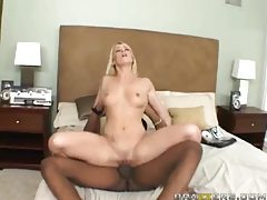 White girl penetrated hard and deep by black cock tubes