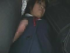 Schoolgirl groped by stranger tubes