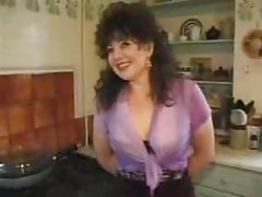 British mum in black lingerie fucked in her box tubes