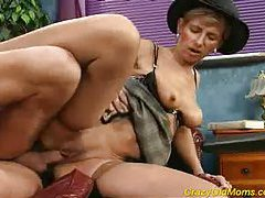 Crazy old mom gets fucked hard tubes