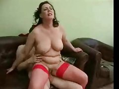 Russian mature wastes no time in getting out his cock tubes