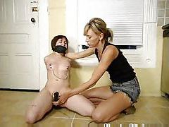Lesbian domination with hot strapon sex tubes